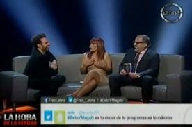 La Hora de la Verdad Peluchín: Magaly admite que Ney Guerrero fue su gestor