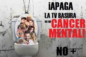 Facebook en español: Inician campaña 'Apaga la TV Basura'