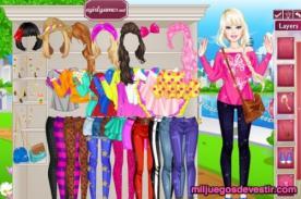 Juegos Friv: Juegos de vestir a Barbie para que seas una chica a la moda
