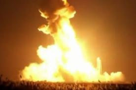 ¡Cohete de la NASA estalla pocos segundos después de despegar! [Video]