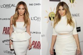Kim Kardashian comparte foto junto a Jennifer Lopez en Instagram