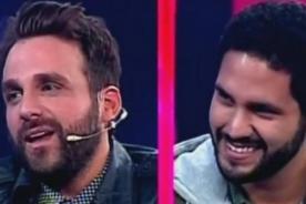 Peluchín y su novio se declaran su amor frente a cámaras - VIDEO