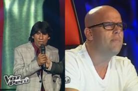 La Voz Perú: Gian Marco genera tensión con polémico comentario - VIDEO