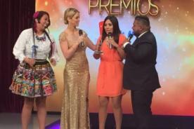 Premios EET: ¿Tula Rodríguez echa de fraude premiación en vivo?