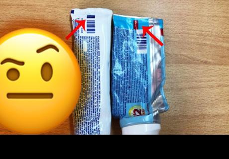 Sabes cual es el significado de los colores de la pasta dental