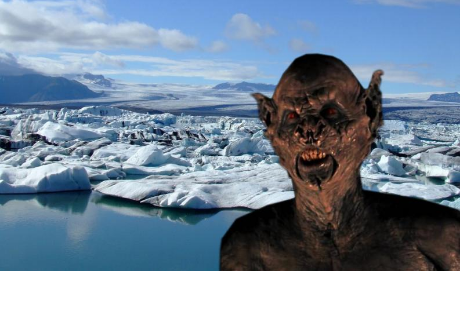 El aterrador sonido que emite el hielo de la Antártida