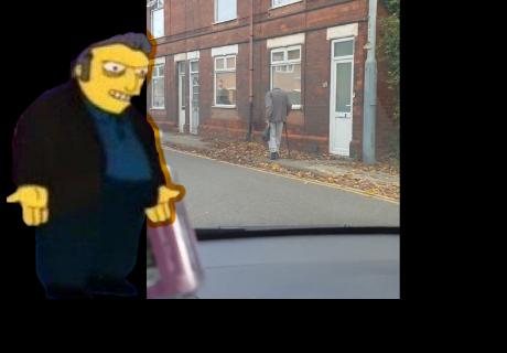 Encuentran a un hombre 'sin cabeza' caminando por la calle en víspera de Halloween