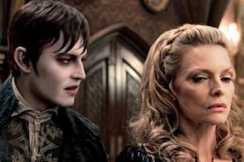 Johnny Depp y Michelle Pfeiffer en nueva imagen de Dark Shadows