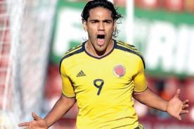 Colombia: Radamel Falcao llegará sin problemas al choque ante Perú