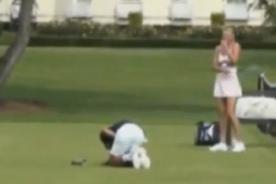 Video: María Sharapova golpea a Djokovic en los genitales en Londres 2012