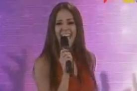 Video: Karen Schwarz imita a Alejandra Guzmán en Yo Soy