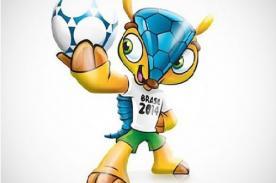 Brasil 2014: La mascota oficial será el armadillo Tatu-Bola