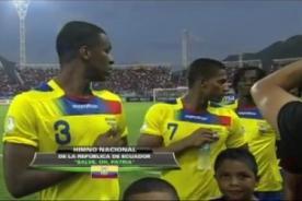 Eliminatorias 2014: Ecuador protestó por la confusión de su himno - Video