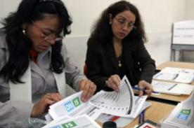 Miembros de mesa ONPE: Lugares en los que se publicarán las listas