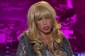 Video: Steven Tyler 'audicionó' en American Idol vestido de mujer