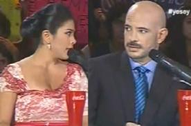 Yo Soy: Maricarmen Marín y Ricardo Morán tuvieron altercado en vivo