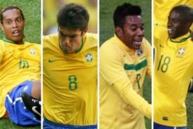 Ronaldinho, Kaká y Ramires quedaron fuera de la Copa Confederaciones