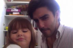 Ádammo: Diego Ubierna presentó a su hija en Facebook - Video