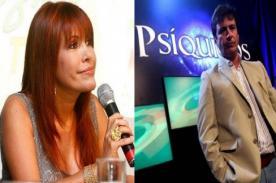 Magaly Medina se burla del programa de Carlos Carlín