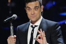 Robbie Williams afirma que compraría drogas a su hija