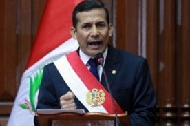 Mensaje Presidencial 2013: Transmisión en vivo por TV Perú (Canal 7)