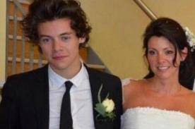 Harry Styles: Boda de su madre fue el día más estresante