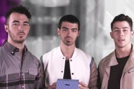 Jonas Brothers nuevamente juntos para campaña de ayuda - Video