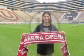 Play Off 2013: 'Beto' Carranza visitó al plantel de Universitario
