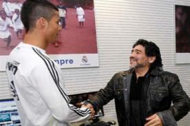 Diego Maradona: Cristiano Ronaldo debería ganar el Balón de Oro 2013