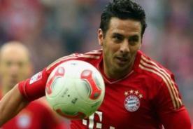 Claudio Pizarro: Es difícil soñar con algo mejor que el Bayern Múnich