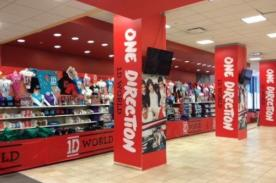 One Direction: Tienda oficial '1D World' llegó a Mexico