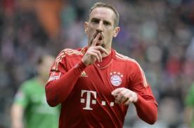 Franck Ribery: Bayern Munich es el único equipo que existe en Europa