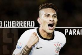Corinthians saluda a Paolo Guerrero por su cumpleaños – FOTO