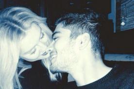 Zayn Malik se luce muy enamorado de Perrie Edwards en San Valentín