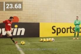 Manchester United: Juan Mata aceptó el reto de la reconocida marca Bwin - VIDEO
