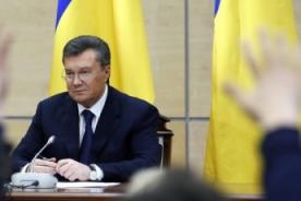 Ucrania: Apareció el perdido presidente Yanukóvich