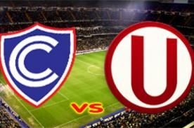 Copa Inca: Cienciano vs. Universitario transmisión en vivo por América TV / Gol TV