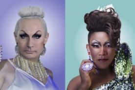 Barack Obama y Vladimir Putín convertidos en glamorosas Drag Queens - GIFS