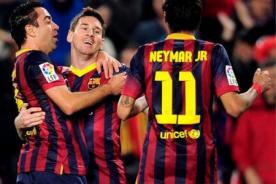 Barcelona destrozó 7-0 a Osasuna por la Liga BBVA - Video de Goles