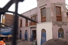 Hallan restos prehispánicos en la antigua casa de Mario Vargas Llosa