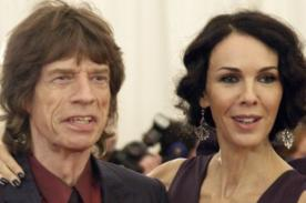 Mick Jagger se refugia en la música tras muerte de su novia