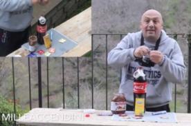 ¿Cómo batir un 'récord mundial' con Coca-Cola, Nutella y condones ? - VIDEO