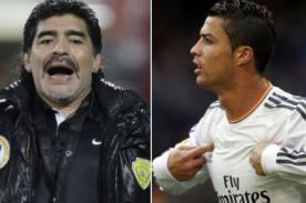Marca de ropa llama 'gay' a Diego Armando Maradona y Cristiano Ronaldo