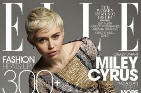Miley Cyrus sufrió bullying por tener acné