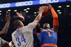 NBA: Jugador del Knicks le rompió la cintura al mítico Paul Pierce - VIDEO