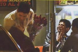 Vania Bludau y Sebastián Lizarzaburu son 'ampayados' besándose - Fotos
