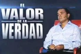 ¿No lo contó todo? Roberto Martínez volvió al Valor de la Verdad