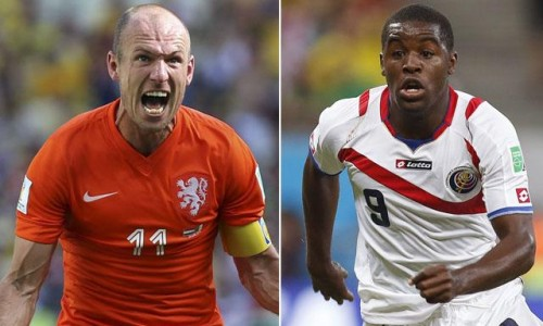 Holanda vs Costa Rica minuto a minuto (0-0) (4-2) - En vivo por Internet - Mundial Brasil 2014