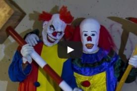 Aterradora broma del payaso 'asesino' remece YouTube [VIDEO]