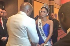 Miss Universo: ¡Así le pidió disculpas Steve Harvey a Pia Alonso! - VIDEO
